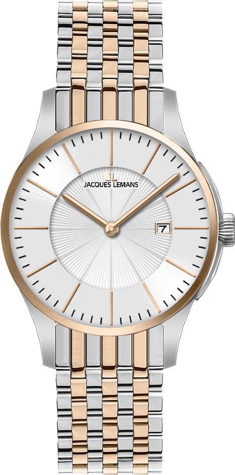 Часы Jacques Lemans 1-1461L кварц. браслет