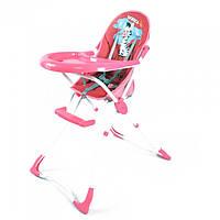Стульчик для кормления TILLY Africa BT-HC-0005 Pink, стульчик для малышей