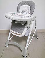 Детский стульчик для кормления CARRELLO Caramel CRL-9501 GREY