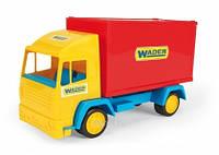 """Машинка + контейнер """"Middle truck"""" в слюде 23*14см, ТМ Wader (22шт)(39210)"""