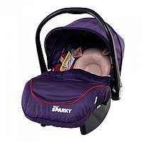 Автомобильное кресло TILLY Sparky T-511 PURPLE (от рождения до 15 месяцев)