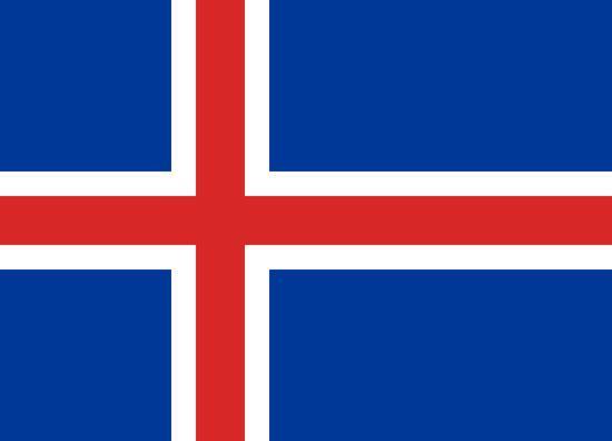 Флаг Исландии 90х150см