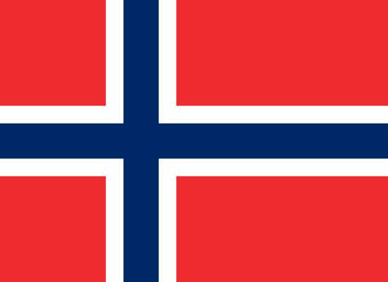 Флаг Норвегии 90х150см