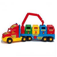 """Мусоровоз """"Super Truck"""", в кор. 79*28см, ТМ Wader (3шт)(36530)"""