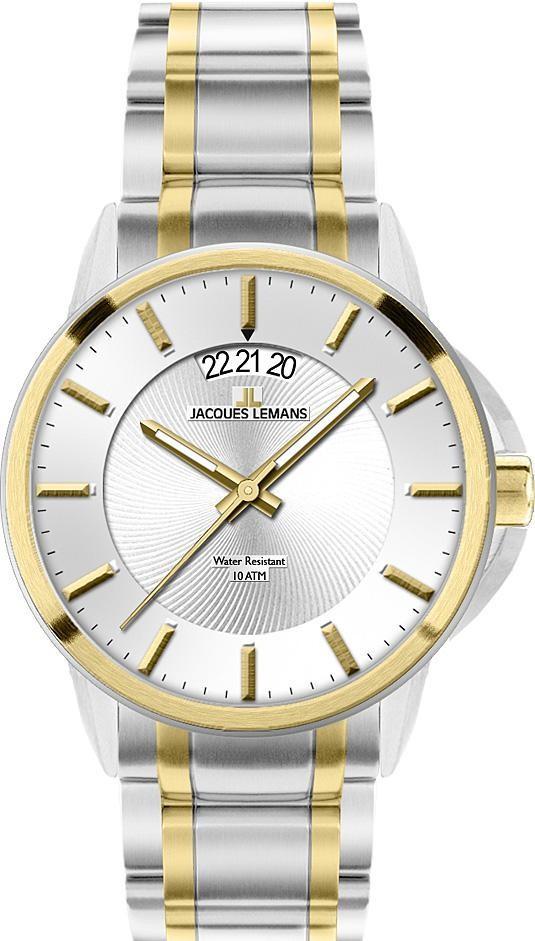 Часы Jacques Lemans 1-1540F кварц. браслет