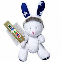 """Мягкая игрушка """"Кролик"""", шарнирная, ручной работы (18см)(А022)"""