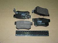 Колодка тормозной HONDA ACCORD задней (Производство TRW) GDB774