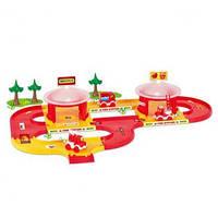 """Набор """"Пожарная"""" (3,1м) """"Kid Cars 3D"""",  в кор. 60*40см, ТМ Wader (5шт)(53310)"""