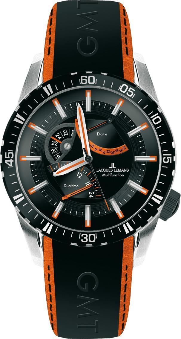 Часы Jacques Lemans 1-1584D кварц. <<