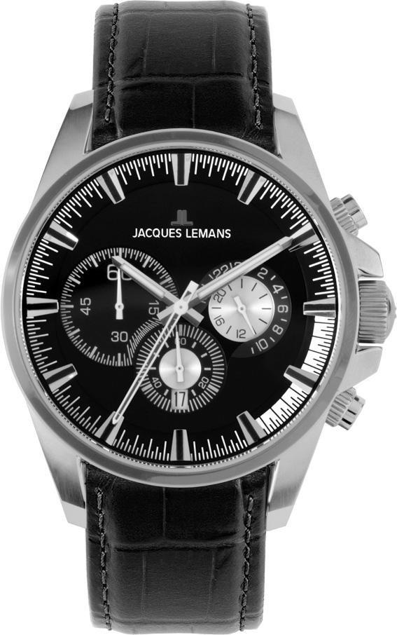 Часы Jacques Lemans 1-1655A кварц. Chronograph