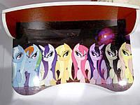 """Парта серии """"Little Pony"""", красная, в кор. 62*42*6см, произ-во Украина(П016)"""