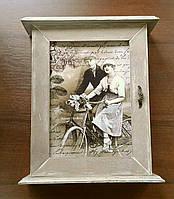 """Ключница """"Прогулка на велосипеде"""" , фото 1"""