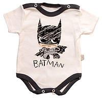 Боди для мальчика Batman Турция (56, 62,68, 74 см)