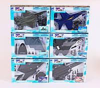 Самолет метал. New Ray Die-Cast, Локхид SR-71 Blackbird, сборная модель, 1:72, в кор. 25*18*4см(21317)