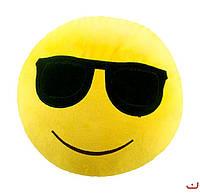 """Синтапоновая игрушка мягконабивная """"SOFT TOYS """"Смайлик"""" в очках, 30*30см(DT-ST-01-12)"""