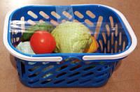 Сумочка с овощами, (8 предметов), 23*19*16см,  Украина (20 шт)(04-465)