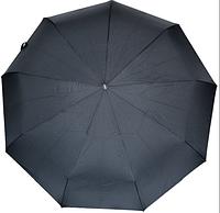 Мужской зонт полуавтомат (прямая ручка, 9 спиц)