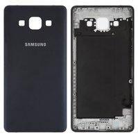 Задняя панель корпуса для мобильных телефонов Samsung A500F Galaxy A5, A500FU Galaxy A5, A500H Galaxy A5, синяя