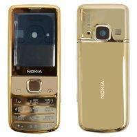 Корпус для мобильного телефона Nokia 6700c, high-copy, золотистый, с клавиатурой