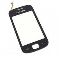 Сенсор (Touch screen) Samsung S5660 черный
