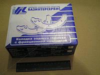 Колодка тормозная ВАЗ 2108 заднего ( комплект 4 штук) (производитель ВИС) 21080-350209055