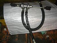 Клапан сцепления МАЗ 5336 со шлангами (L=170 мм) (производитель БААЗ) 5336-1602738-10
