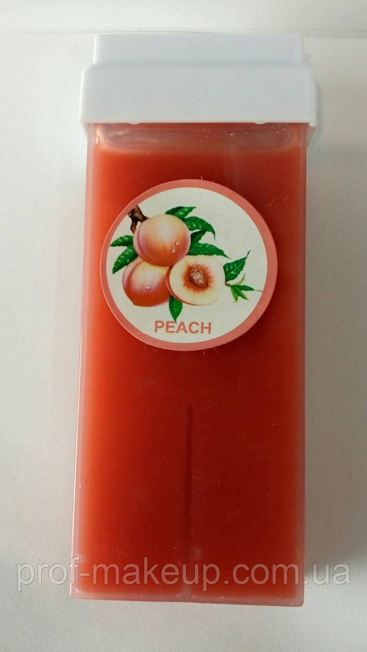 Воск для депиляции в кассете с ароматом персика