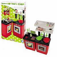 Кухня Chef-Cook, плита, духовка, посудомойка. Ecoiffier 001742 Франция
