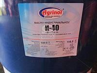 Масло индустриальное Агринол И-40А (Бочка 180л) И-40А