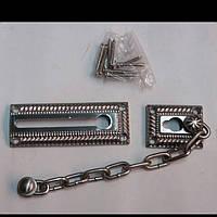 Цепочка на дверь С 649- матовый никель