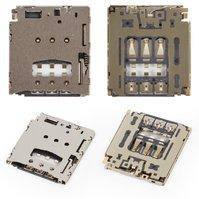 Коннектор SIM-карты для мобильного телефона Blackberry Q5