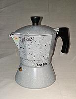 Гейзерная кофеварка 150мл. Con Brio CB-6703