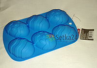 """Форма силиконовая Kamille """"Пасхальные яйца"""" 21*13*2.5см"""