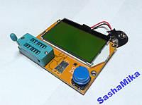 Тестер LCR T4, транзисторы, резисторы, индуктивности, емкости