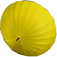 Женский зонт однотонный (Трость, 24 спицы)