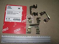 Колодка тормозной комплект монтажный HYUNDAI ACCENT передний (Производство TRW) PFK524