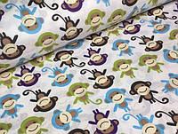 Детское постельное белье Мартышки (100% хлопок)
