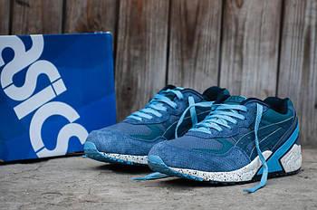 Мужские кроссовки Asics Kith (Асикс Кит) голубые