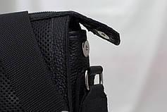 Мужская кожаная сумка из перфорированной кожи, фото 2