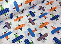 Детское постельное белье Самолетики (100% хлопок)