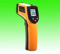 Инфракрасный цифровой термометр, пирометр. Диапазон температур от -50 до +380.