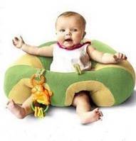 """Манеж - Кресло для малышей """"Неуползайка"""". Зеленый"""
