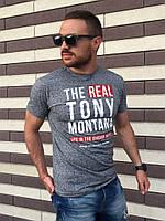 Модная мужская футболка TONY MONTANA
