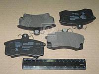 Колодка тормозная ВАЗ 2108 переднего безасборе ( комплект 4 штук)механическоеаник (производитель Цитрон)