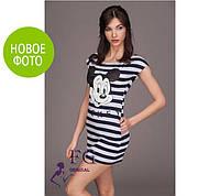 """Платье летнее """"Miki"""", вискоза, размеры 42, 44, 46,48., длина 81 см"""