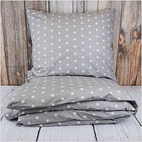 Комплект постельного белья Звезды Grey (ранфорс, 100% хлопок), фото 1