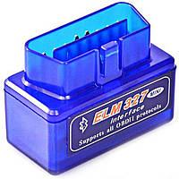 ©Диагностический сканер-адаптер OBD2 адаптер ELM327 Bluetooth mini v2.1 (SC03-D) автомобильный автосканер