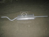 Глушитель ВАЗ 21099 с минеральным наполнителем закатной (производитель Украина) 21099-1201005