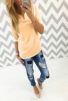 Шифоновая блузка женская 55501