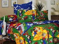 """Комплект постельного белья""""Микки Маус"""", в кроватку"""